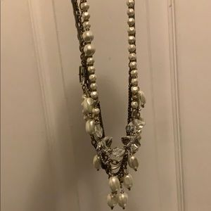 Necklace of 5 different chains.